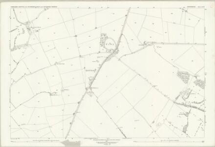 Oxfordshire XX.10 (includes: Ascott under Wychwood; Chadlington; Chilson; Lyneham) - 25 Inch Map