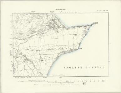 Dorset LVII.SW - OS Six-Inch Map