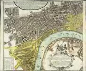Vrbium Londini et West-Monasterii nec non suburbii Southwark accurata ichnographia, 1