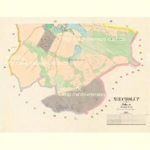 Miecholup - c4581-1-002 - Kaiserpflichtexemplar der Landkarten des stabilen Katasters