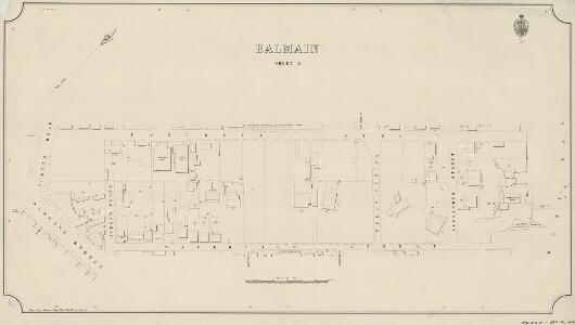 Balmain, Sheet 16, 1888