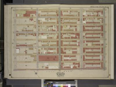 Brooklyn, Vol. 1, Double Page Plate No. 35; Part of   Ward 8, Section 3; [Map bounded by 52nd St., 5th Ave.; Including  60th St., 1st  Ave.]
