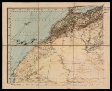 Spezial - karte von AfricaSektion West-Sahara (1)