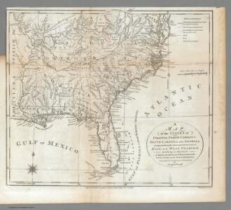 Virginia, North Carolina, South Carolina, and Georgia.