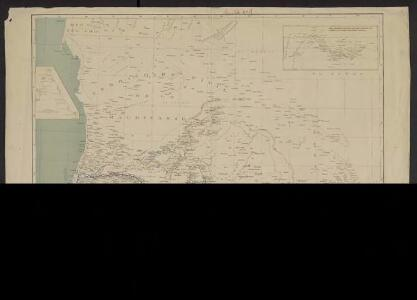 Carte générale de l'Afrique occidentale française. flle n1, Sénégal, Mauritanie, partie occidentale du Haut-Sénégal et Niger