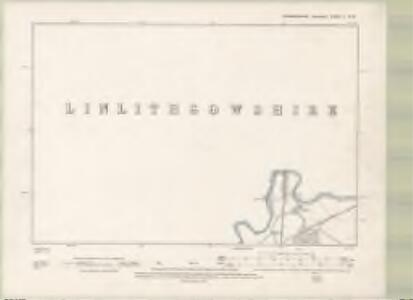 Edinburghshire Sheet II.NW - OS 6 Inch map