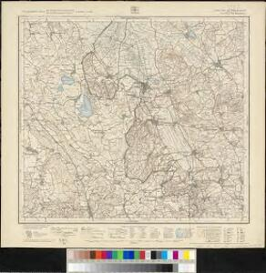 Meßtischblatt [8122] : Wilhelmsdorf, 1917
