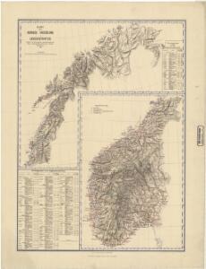 Spesielle kart nr 67: Norges Inndeling i Lægedistrikter