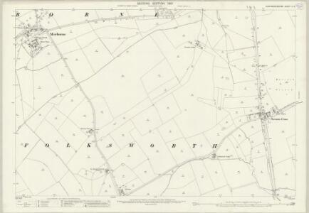 Huntingdonshire V.14 (includes: Folksworth and Washingley; Morborne; Stilton; Yaxley) - 25 Inch Map