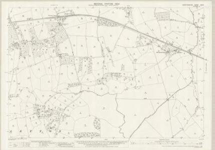 Herefordshire XXV.9 (includes: Kinnersley; Letton; Norton Canon; Staunton On Wye) - 25 Inch Map