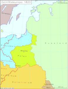 Ostmitteleuropa 1820
