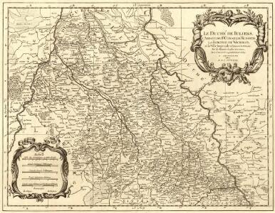 Le Duché de Iuliers, l'Abbaye de Sr. Cornelis Munster, la Baronie de Wickrad, et la Ville Imperiale d'Aix la Chapelle