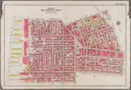 Plate 2: [Bounded by Clark Street, Fulton Street, Tillary Street, Gold Street, Willoughby Street, Bond Street, Atlantic Avenue, Court Street, Amity Street, Columbia Street, Atlantic Avenue and (East River) Furman Avenue]; Atlas of the borough of Brooklyn, city of New York: from actual surveys and official plans by George W. and Walter S. Bromley.