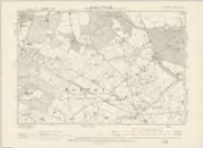 Cheshire XL.NE - OS Six-Inch Map