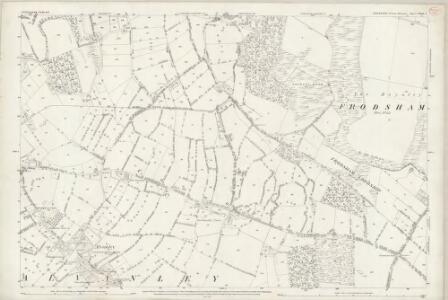 Cheshire XXXII.7 (includes: Alvanley; Frodsham; Helsby) - 25 Inch Map