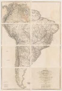 Colombia Prima or South America : in which it has been attempted to delineate the extent of our knowledge of that continent, extracted chiefly from the original manuscript maps of ... Pinto, likewise fom those of João Joaquin da Rocha, João da Costa Ferreira ... Francisco Manuel Sobreviela &c. and from the most authentic edited accounts of those countries
