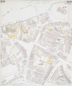Insurance Plan of London South West District Vol. K: sheet 14