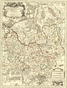 Partie Orientale du Temporel de l'Archevesché et Eslectorat de Mayence et le Comté de Reineck