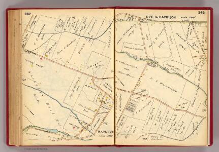 262-263 Rye, Harrison.