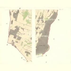 Bernhau (Barnow) - m2132-2-001 - Kaiserpflichtexemplar der Landkarten des stabilen Katasters