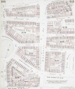Insurance Plan of London North District Vol. D: sheet 15
