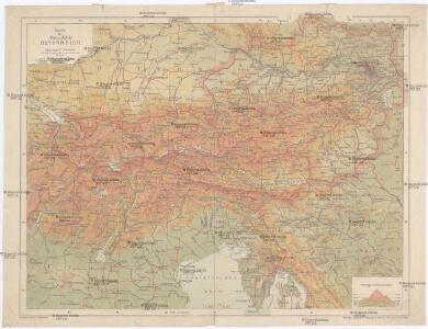 Karte der Republik Österreich