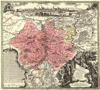 Recens et Accurata Designatio Episcopatus Paderbornensis in suas Dioecenses et Praefect. Exacte Distincti