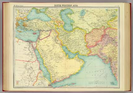 South-western Asia.
