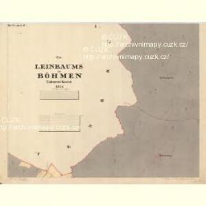 Leinbaums - c3147-1-001 - Kaiserpflichtexemplar der Landkarten des stabilen Katasters
