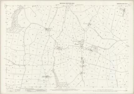Derbyshire XXXIX.11 (includes: Shottle and Postern) - 25 Inch Map