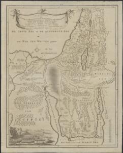 Afbeelding van Egypte, de woestyne der Schelfzee, en 't Land Kanaan : strekkende tot opheldering der bybelsche geschiedenis, dewelke begint van Jakobs vertrek naar Egypte, en eindigt met de verwinning van 't Land Kanaan