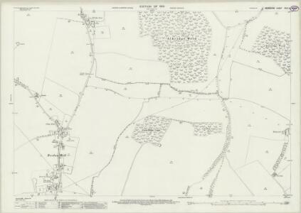 Berkshire XXVII.6 (includes: Beedon; Compton; East Ilsley; Hampstead Norris) - 25 Inch Map