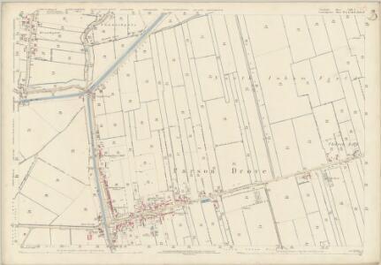 Lincolnshire CLIV.3 (includes: Parson Drove; Sutton St Edmund) - 25 Inch Map