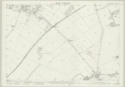 Cambridgeshire LIV.5 (includes: Harston; Newton) - 25 Inch Map
