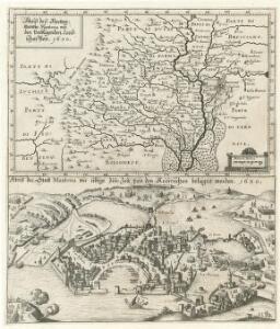 Abriß deß Hertzogthumbs Mantoua mit den Vmbligenden Landschafften 1630