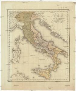 Italien nach den Voelkerstaemmen in der ersten Hälfte des dritten Jahrhunderts des Stadt