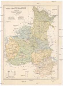 Bereg és Ugocsa vármegye térképe