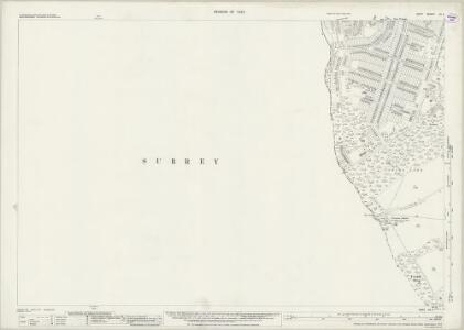 Kent XV.11 (includes: Beckenham; Croydon St John The Baptist) - 25 Inch Map
