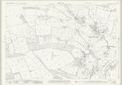 Wiltshire LXIX.9 (includes: Donhead St Andrew; Donhead St Mary) - 25 Inch Map