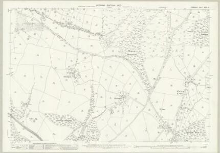 Cornwall XXXIV.16 (includes: Lostwithiel; St Winnow) - 25 Inch Map