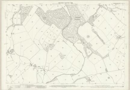 Cumberland LXXVIII.5 (includes: Beckermet St Bridget) - 25 Inch Map