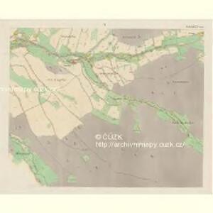 Giesshübel (Wolessnice) - c5448-1-004 - Kaiserpflichtexemplar der Landkarten des stabilen Katasters