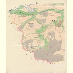 Budkau (Budkow) - c0642-1-002 - Kaiserpflichtexemplar der Landkarten des stabilen Katasters