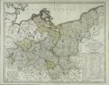 Charte über den nördlichen Theil des ober saechsischen Kreises enthaltend die Mark Brandenburg u. d. Hrz. Pom[m]ern