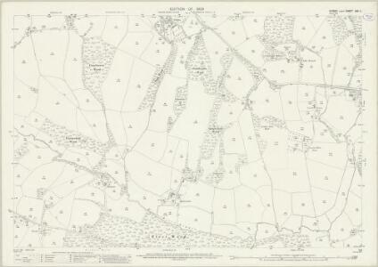Sussex XXX.2 (includes: Etchingham; Ticehurst) - 25 Inch Map