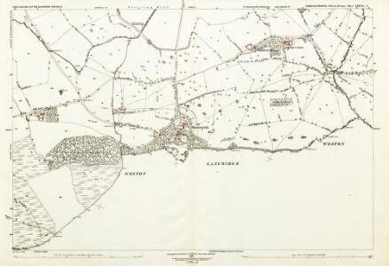 Gloucestershire LXXVII.6 (includes: Bitton; Charlcombe; Cold Ashton; Doynton; North Stoke; Weston) - 25 Inch Map