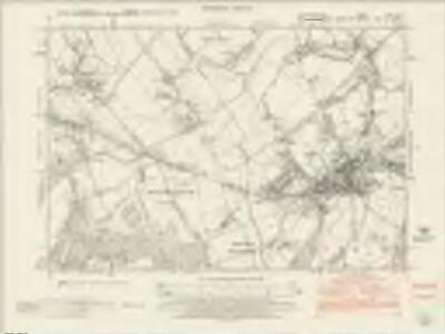 Hertfordshire XXV.SW - OS Six-Inch Map