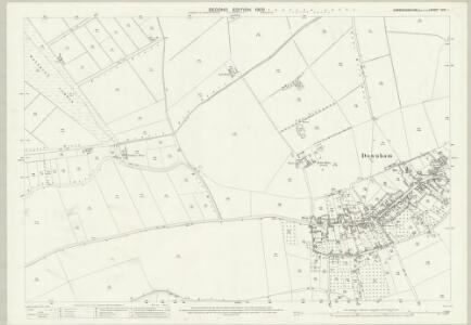 Cambridgeshire XXVI.1 (includes: Downham) - 25 Inch Map
