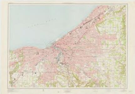 Cleveland and vicinity, Ohio