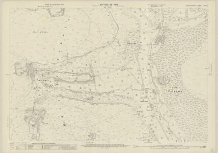 Denbighshire XXXIV.2 (includes: Bryneglwys; Llandegla; Llangollen Rural; Llantysilio) - 25 Inch Map